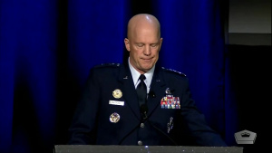 Air Force's Space Commander Speaks at 35th Space Symposium