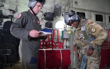 815th Airlift Squadron Train for Air Delivery Drop Operations
