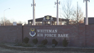 Whiteman AFB Main Gate Sign