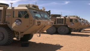 [PKG] Army dedicates new autonomous leader-follower vehicles to fallen Soldiers