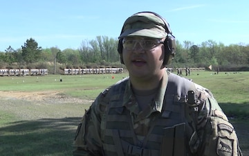 Service Members Compete in Marksmanship Competition