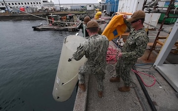 UCT-2 Repairs Fleet Activities Yokosuka Pier