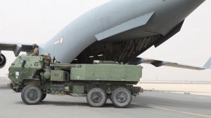 U.S. High-Mobility Artillery Rocket Systems in Qatar
