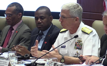 Commander of U.S. Southern Command Adm. Craig Faller at Resiliency Partnership