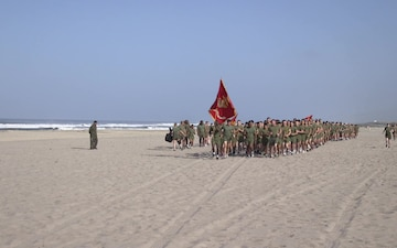 B-Roll Headquarters and Support Battalion conducts a battalion run