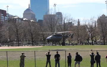 Special Operation at Army Expo on Boston Commons