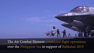 Balikatan 2019: Air Combat Element aboard the USS Wasp (LHD 1)