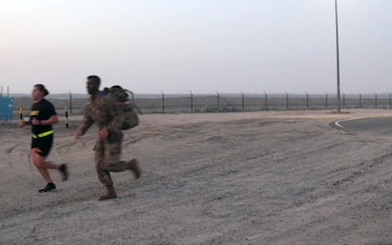 Service Members and Coalition Forces Awarded GAFB at Camp Arifjan