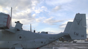 VMM-261 Marine receives Maintenance Marine of the year award