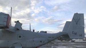 VMM-261 Marine receives Maintenance Marine of the year award