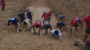 World Famous Annual Camp Hansen Mud Run