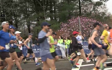 104th Fighter Wing Supports 123rd Boston Marathon