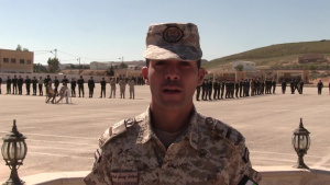 NCO Exchange between U.S. Army and Jordan Armed Forces (B-Roll)