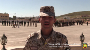NCO Exchange between U.S. Army and Jordan Armed Forces