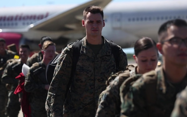U.S. Marines Arrive in Darwin