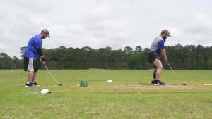 (Stringer) 2019 AF Warrior Games Team golf training