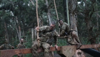 Soldiers Participates in Jungle Operations Training Course