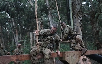 Soldiers Participate in Jungle Operations Training Course