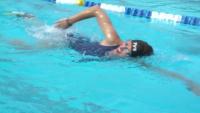 2019 AF Warrior Games Team Swimming Practice