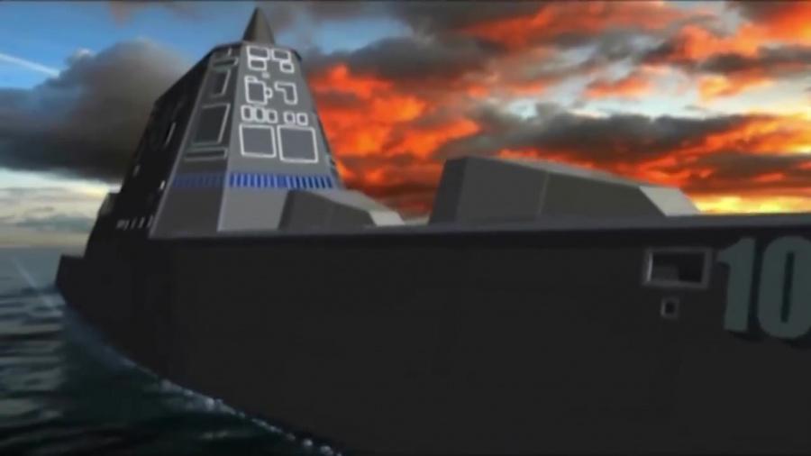 USS Zumwalt DDG1000 part 3