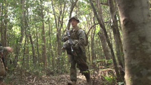 Evasion Course at the Jungle Warfare Training Center