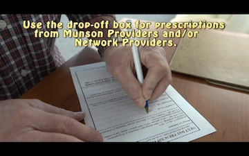 Munson Pharmacy Drop-Off Box Instructional Video
