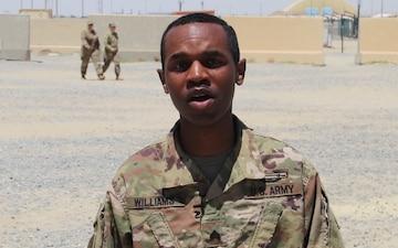 Sgt. Nahjier Williams