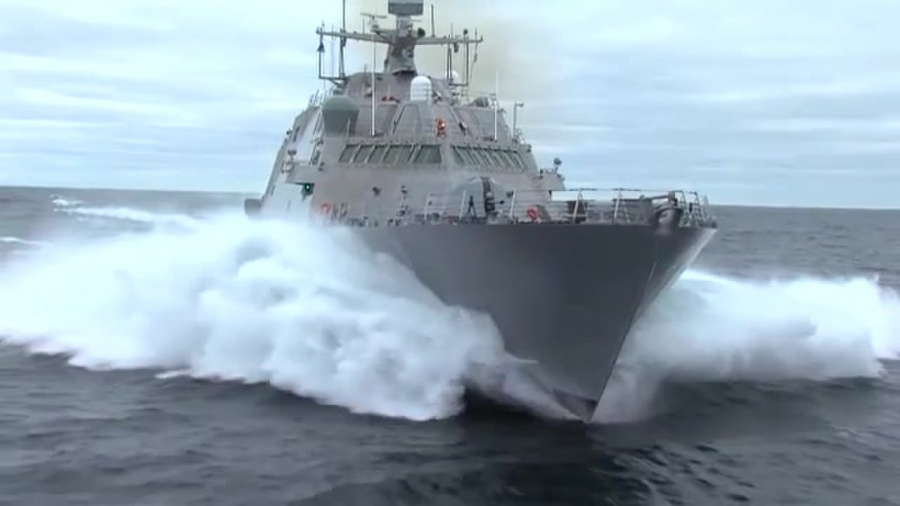 LCS dominating the littoral battlespace