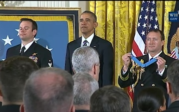 White House Medal of Honor Ceremony