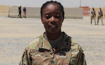 Staff Sgt. Salma Cowell