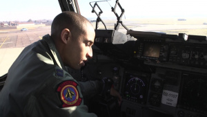 Capt Dante Earle C-17 Video Portrait and B-Roll