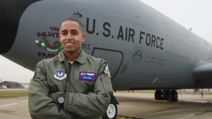 Capt Dante Earle Video Portrait and KC-135 B-Roll