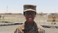 Mother's Day Shoutout: Spc. Charmaine Amos