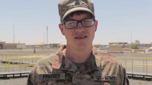Mother's Day Shoutout: Sgt. James Freret