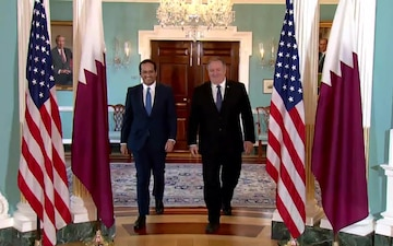 Secretary Pompeo Meets with Qatari Minister of Foreign Affairs