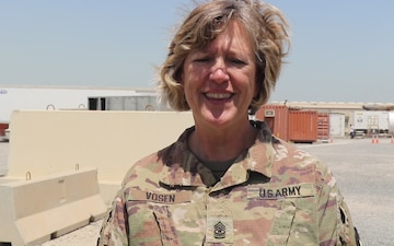 Mother's Day Shoutout: SGM Lois Vosen