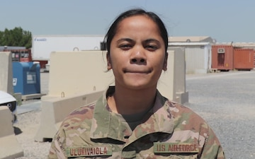 Mother's Day Shoutout: TSGT Fiatagata Ulukivaiola