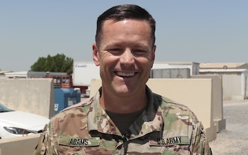 Mother's Day Shoutout: MAJ David Adams