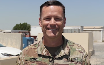 Vikings Shoutout: MAJ David Adams