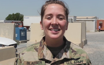 Mother's Day Shoutout: SPC Scarlett Blaeser