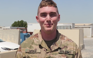 St. Paul Saints Shoutout: 2LT Stephen Uphus