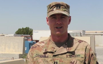 Mother's Day Shoutout: CPT Jordan Carlson