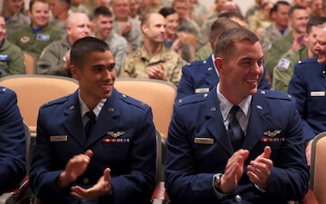 337th Air Control Squadron Air Battle Manager students hold graduation ceremony