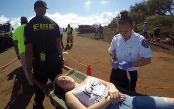 Joint Interagency mass rescue exercise conducted successfully on Kauai