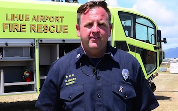 Capt. Colby Hanley, Lihue Airport Fire Captain