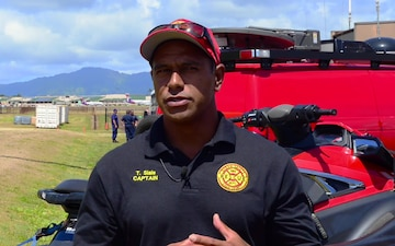 Training Capt. Tyrese Siale, Ocean Safety and Lifeguard Services