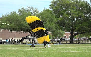 Educators Skydive with the U.S. Army Parachute team