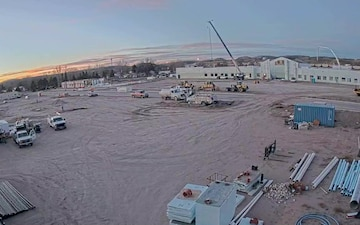 RTI Construction Time-lapse at Camp Guernsey, Wyoming