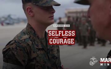 Marine Minute: Selfless Courage
