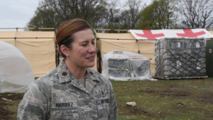 86th Medical Group Airmen work hand in hand with Romanian medical personnel